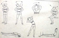 Упражнения для тренировки мышц шеи