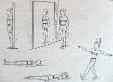 Упражнение на осязание для детей