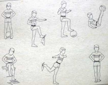 Упражнения для профилактики плоскостопия у детей.